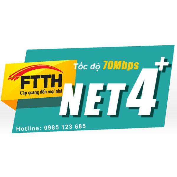 Internet cáp quang Viettel Net4+