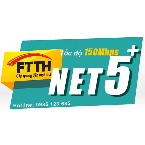 Internet cáp quang Viettel Net5+