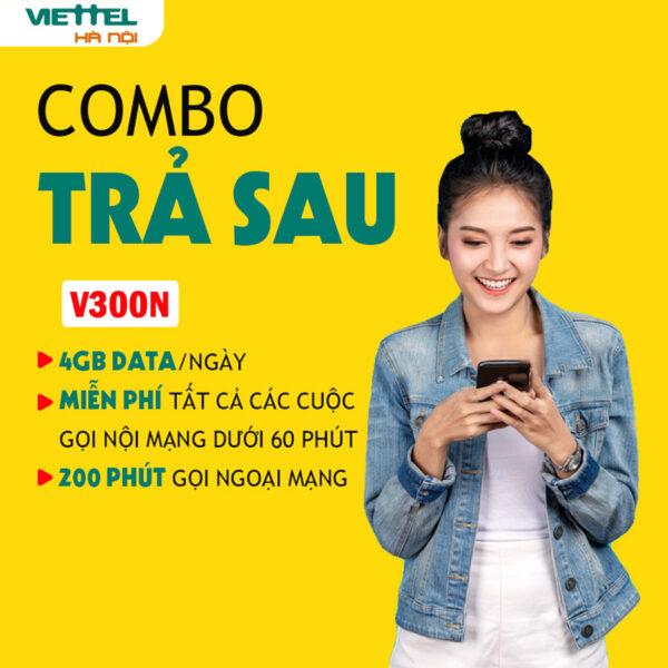 Trả sau Viettel V300N