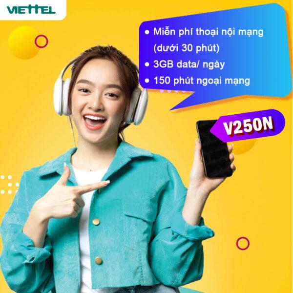 Trả sau Viettel V250N