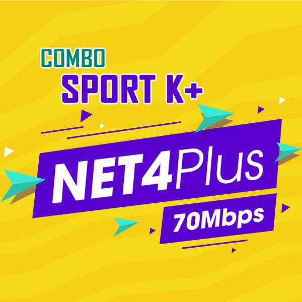 Combo Net4+ Sport