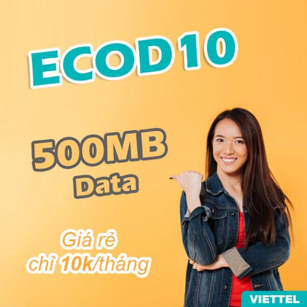 Gói data ECOD10