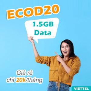 Gói data ECOD20