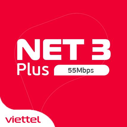 Internet Viettel gói Net3+