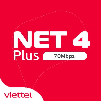 Internet Viettel gói Net4+