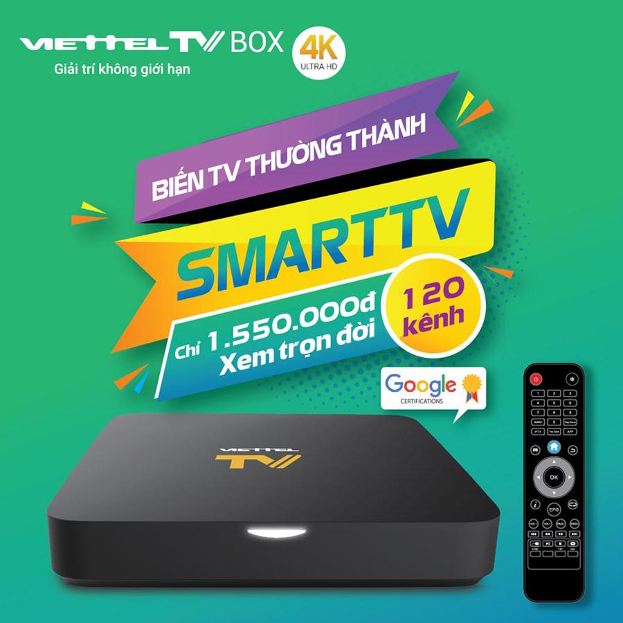Truyền hình Viettel TV Box – Viettel Digital